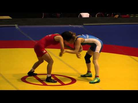 2014 Junior Pan-American Championships: 48 kg Amy Hou (USA) vs. Annie Monteith (CAN)