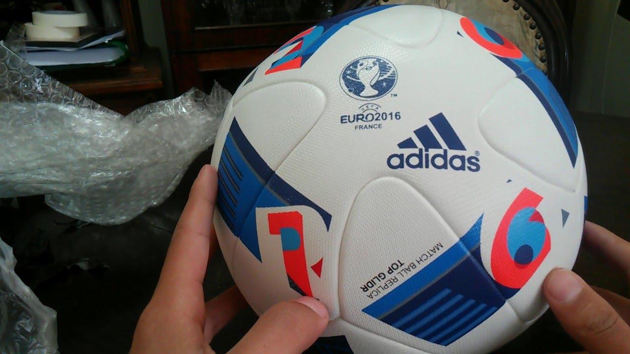 Unboxing  Balon UEFA Euro copa 2016