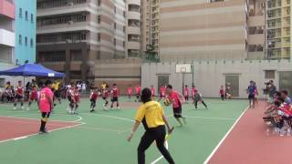2016全港閃避球錦標賽小學男子組(四強) 龍創體育會對救世