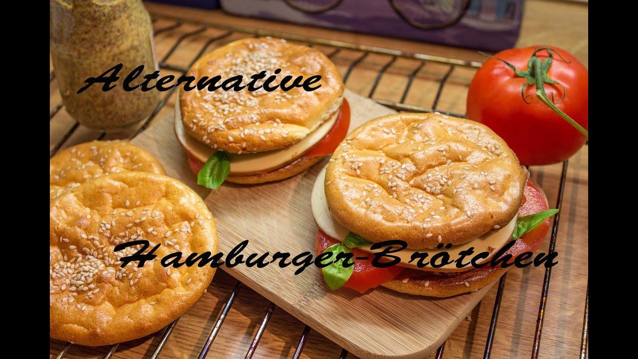 fast food alternative ii zu hamburger br tchen glutenfrei low carb youtube. Black Bedroom Furniture Sets. Home Design Ideas