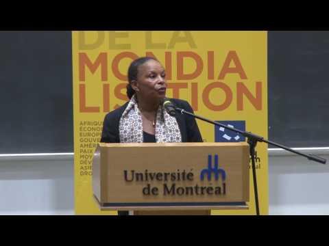 Conférence de Christiane Taubira au CÉRIUM - L'avenir de