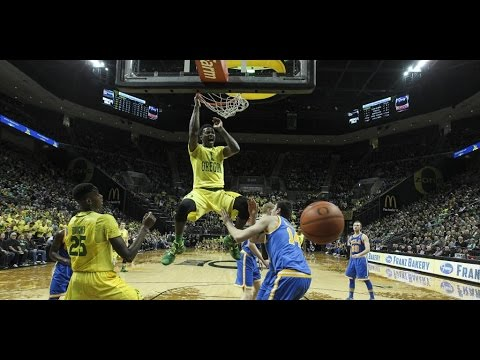 Highlights: Oregon men's basketball powers past UCLA