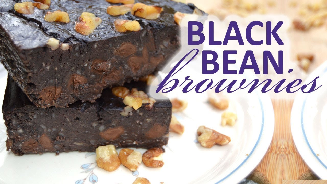 how to make black bean brownies from scratch
