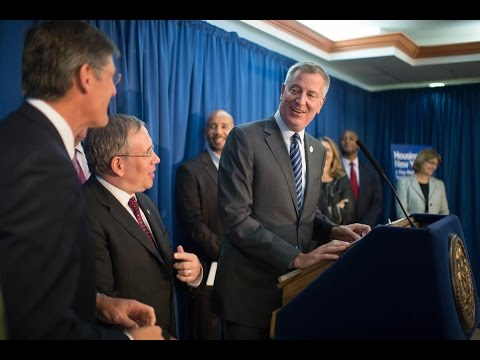 Mayor de Blasio Announces New Partnership to Invest $350 Million in Affordable Housing