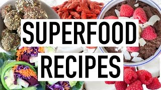 SUPERFOOD RECIPES! Easy & Quick Healthy Recipes! Cooking With Liv Ep.15