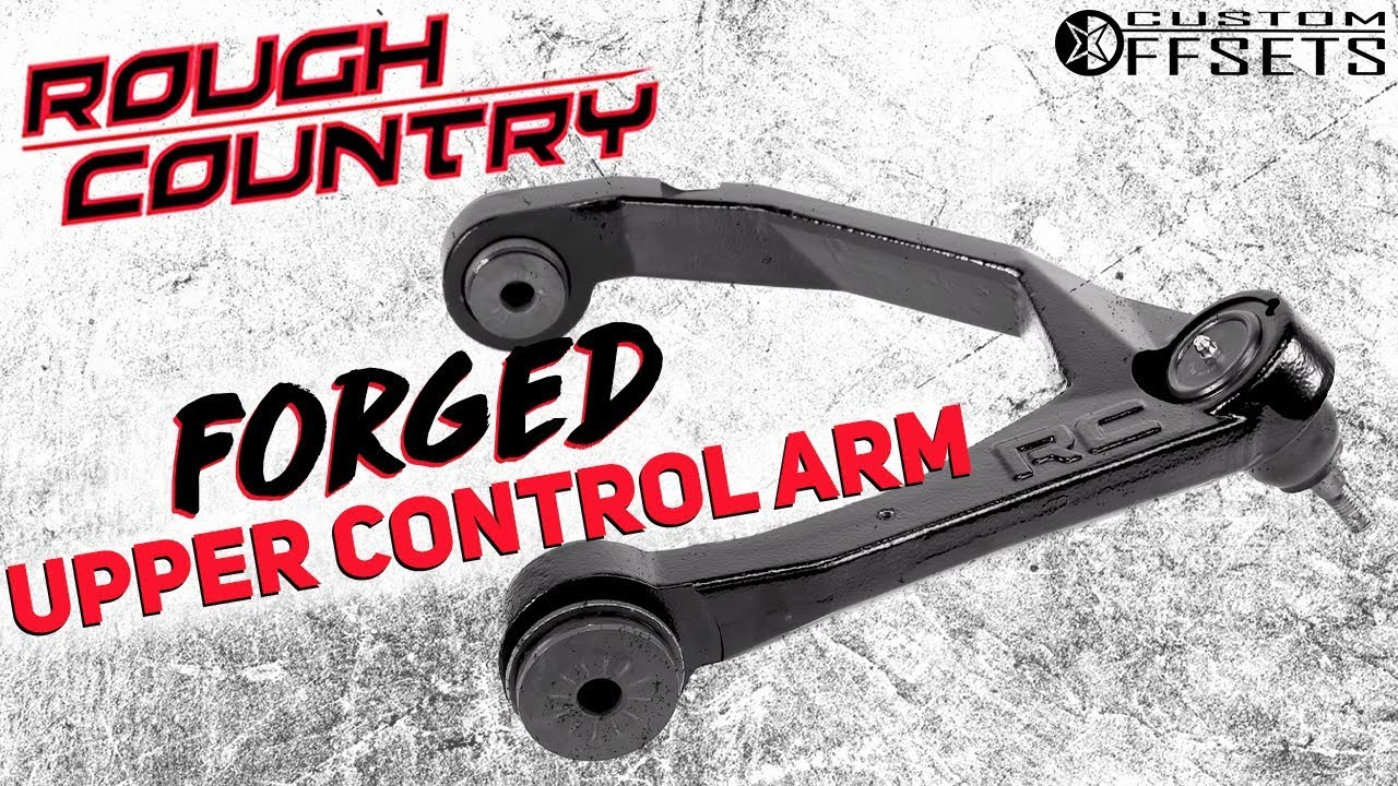 Rough Country Forged Upper Control Arms Youtube