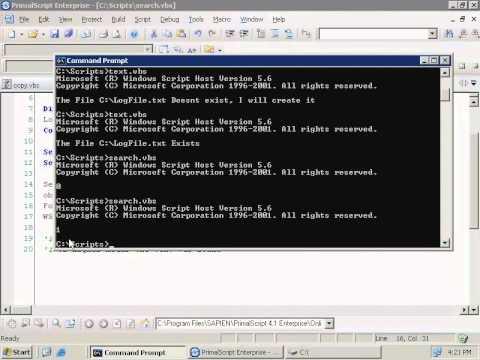 VBScript - Objects (6b - 9)