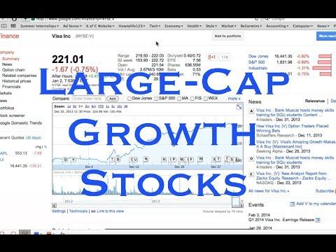 VISA INC For Large-Cap Growth