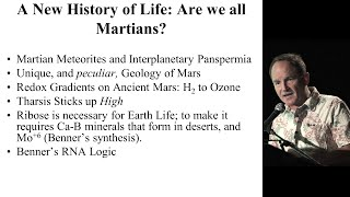 A New History of Life: Are We Really Martians? - Joe Kirschvink