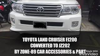 Toyota Land Cruiser FJ200 Converted To JZ202 By Zone -89 Car Accessories & Part..