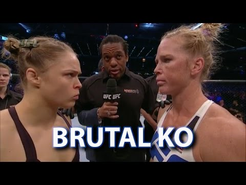 Holly Holm Shocks Ronda Rousey via Brutal Head Kick – Post Fight Thoughts and Analysis