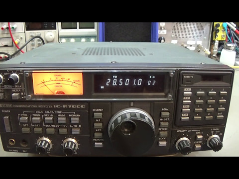 Connecting an SDR Radio to the IC-R7000 Communications Receiver IF