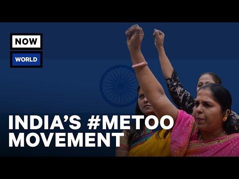 India's #MeToo Movement | NowThis World