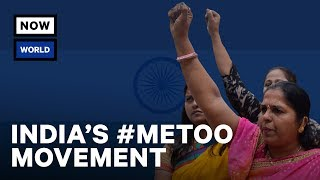 India's #MeToo Movement | NowThis World
