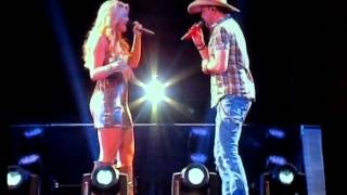 Jason Aldean and Lauren Alaina