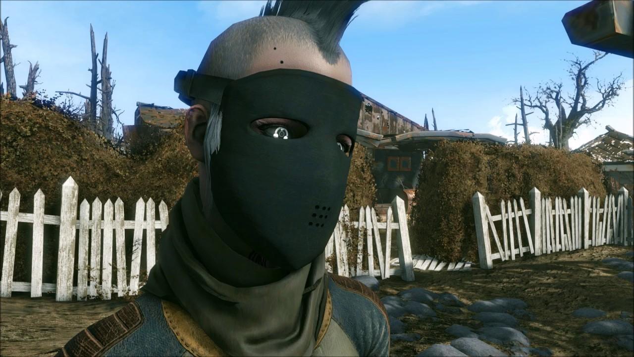 Fallout 4 Sleek Ballistic Mask - YouTube Fallout 4 Nexus