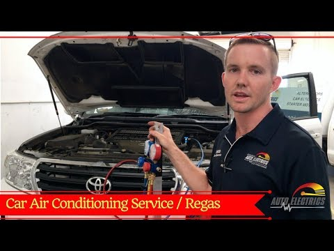 What We Do During An AC Service & Regas | Accelerate Auto Electrics & Air Conditioning