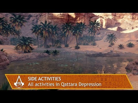 Assassin's Creed Origins - All side activities in Qattara Depression