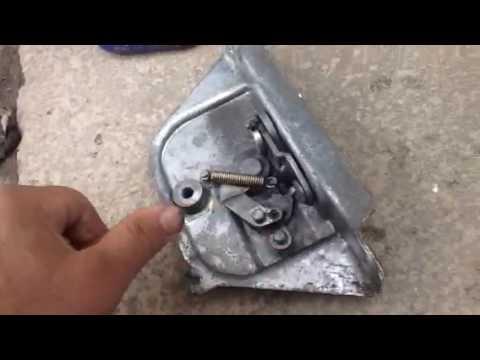Vw T2 Sliding Door Mechanism And Front Latch Youtube