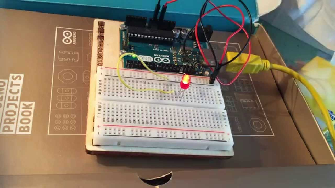 Beliebt Arduino kit de démarrage Projet n°1 : La led - YouTube IP12