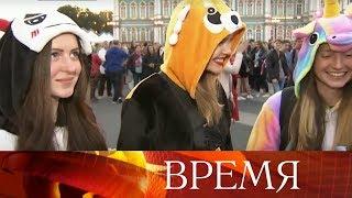 В Санкт-Петербург съехались тысячи выпускников и гостей, чтобы увидеть праздник «Алые паруса».