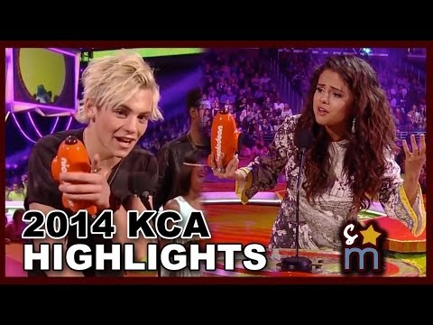 2014 Kids' Choice Awards Highlights: Ross Lynch, Selena Gomez Win & Cody, Austin Slimed