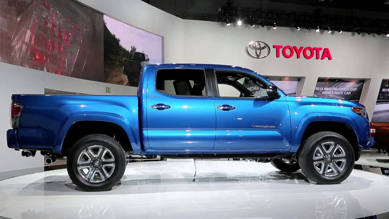 2016 Toyota Tacoma Preview 2015 Detroit Auto Show Youtube