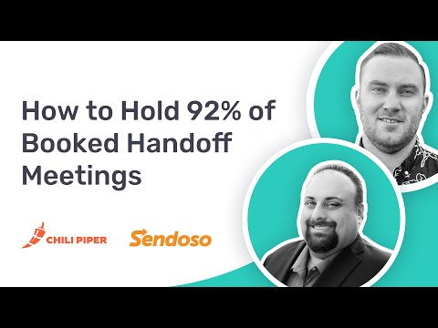 How Sendoso Automates their SDR-AE Handoff to Hold 92% of Booked Meetings