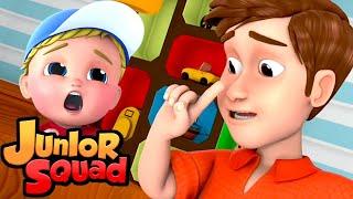 чихать песня | музыка для малышей | обучающие | Junior Squad Russia | детские песни