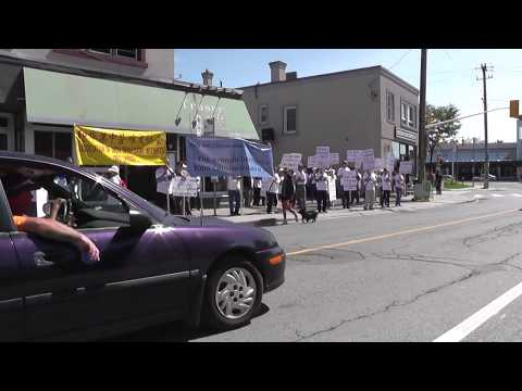 August 24 AIDCI in Ottawa Demonstration seeking Justice from the Indian Government
