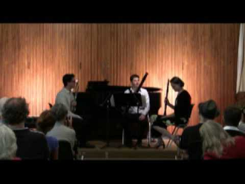 Raison d'Etre Act 1 - Vientos Trio, oboe, clarinet, bassoon