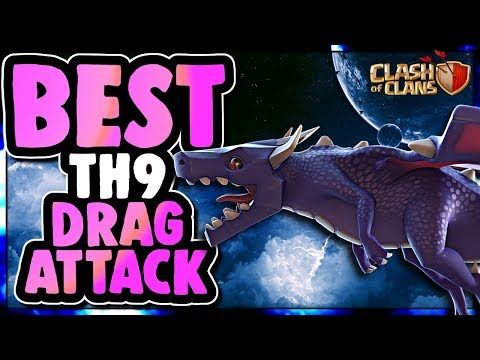 BEST TH9 DRAGON ATTACK STRATEGY | THE PERFECT STORM | Clash of Clans