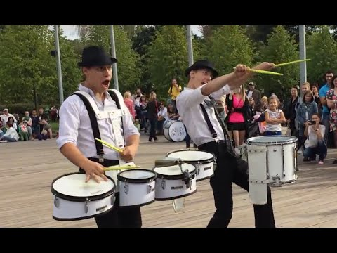 Cool & Funny Drum Show by Vasiliev Groove!