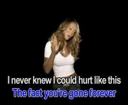 Bye bye (MV version) - Mariah Carey (Karaoke)