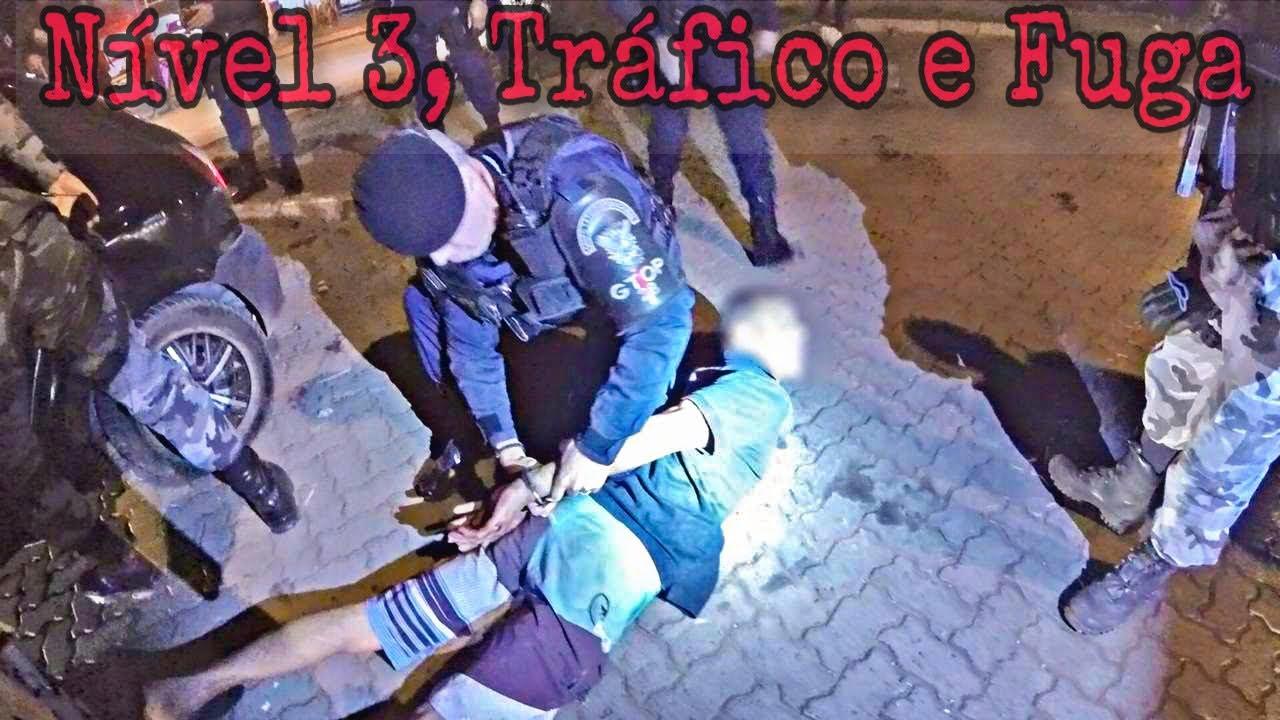 Ronda Tática - Nível 3, Tráfico e Fuga
