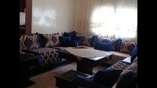 Tour salon marocain غيرت ديكور صالوني/جولة في صالوني المغربي بين تقليدي وعصري