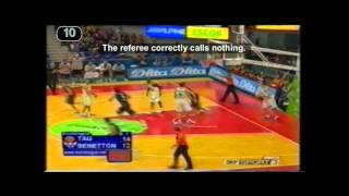 FIBA BASKETBALL RULES   NO CHARGE SEMI CIRCLE AREAS