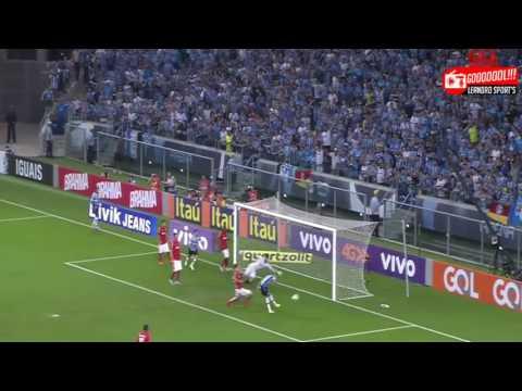 Grêmio 5 x 0 Internacional   Narração Pedro Ernesto Denardim, Rádio Gaúcha 09 08 2015