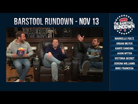 Barstool Rundown - November 13, 2018
