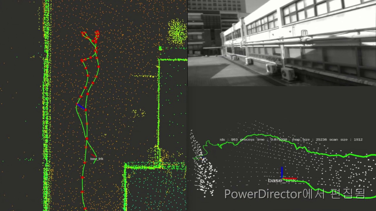 Outdoor LIDAR SLAM and Graph Optimization