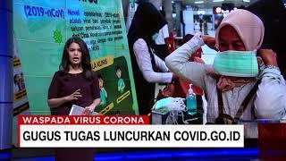Gugus Tugas Luncurkan 'covid.go.id'