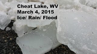 Cheat Lake, WV. Flood of March 4, 2015 (HD)