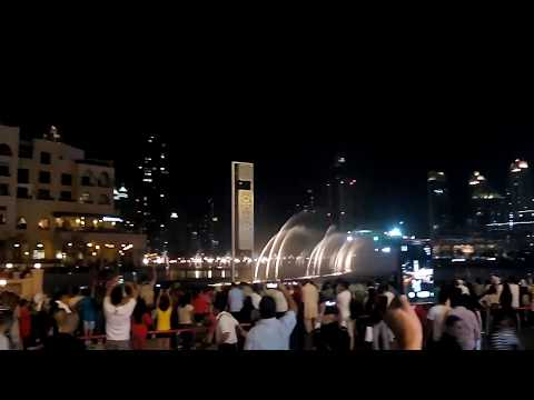 Dubai Fountains LIVE 2015