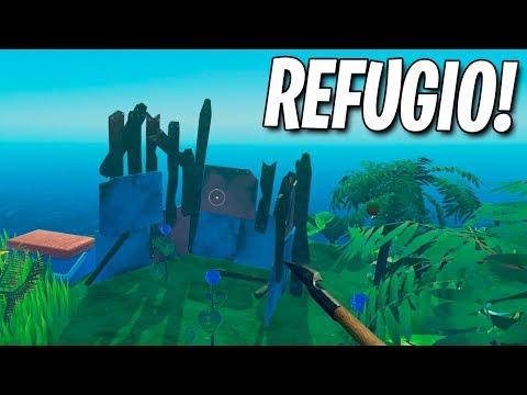 LLEGAMOS AL REFUGIO! RAFT (JUEGO COMPLETO)