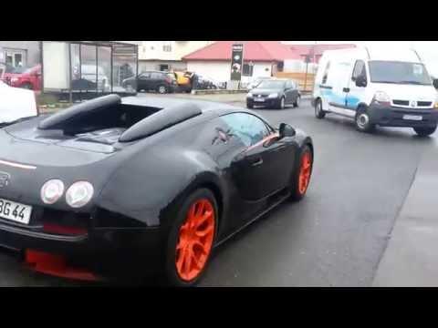 Bugatti Veyron Grand Sport Vitesse Romania Pipera