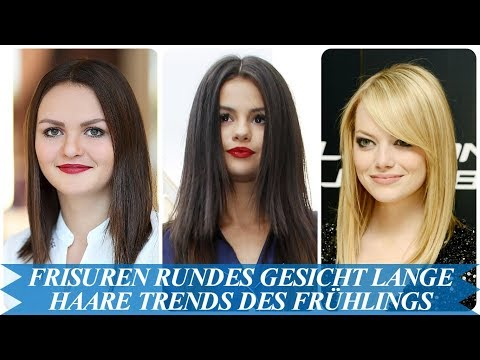 Elegante Frisuren Rundes Gesicht Lange Haare Trends Des Fruhlings