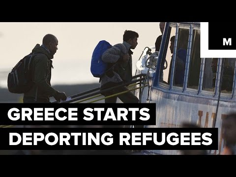 Greece Starts Deporting Refugees Under Controversial New Plan