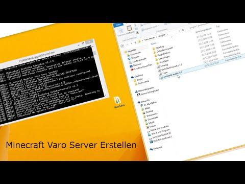 Minecraft Varo Server Erstellen Teams Dow - Minecraft server erstellen in jeder version