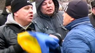 Провокаторы на пикетах 6 декабря