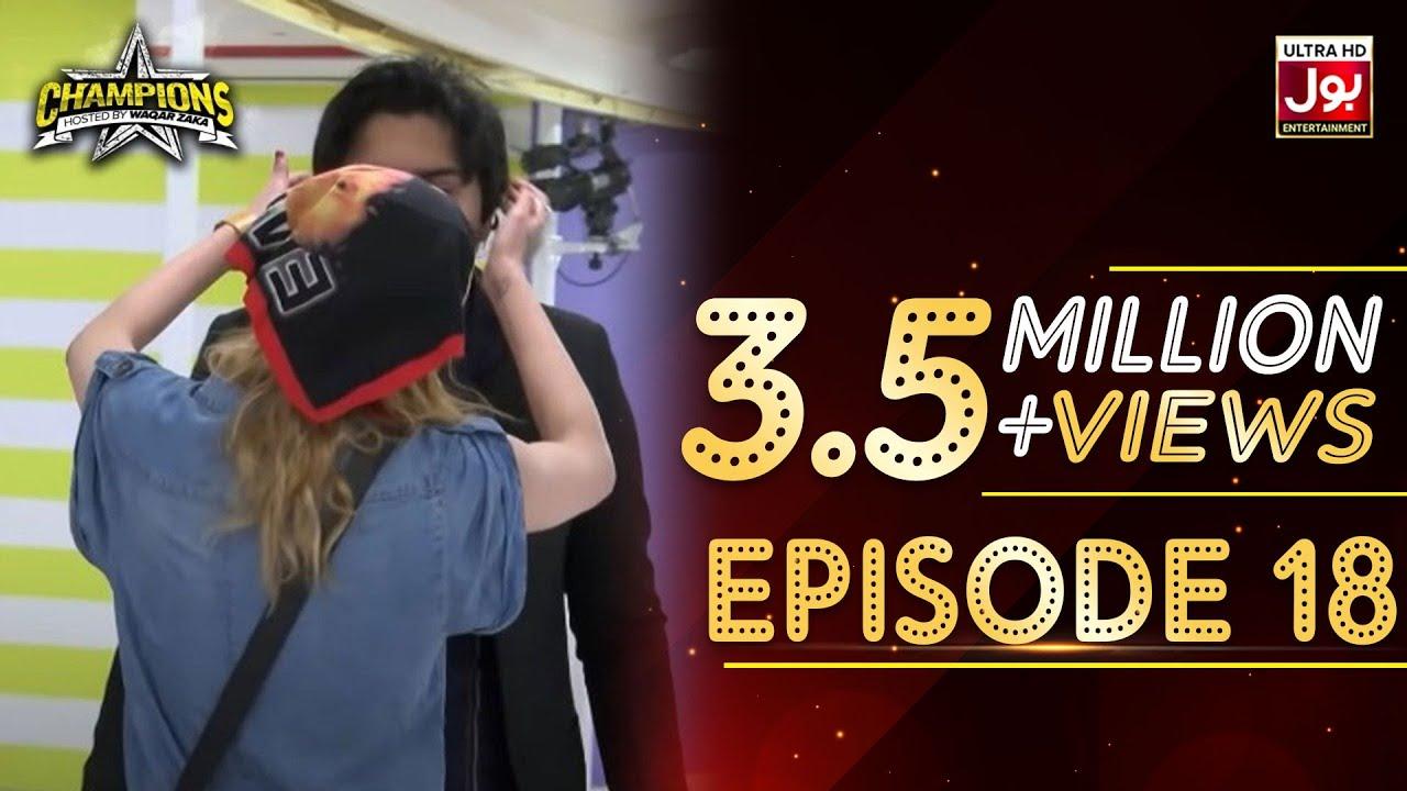 Download Champions With Waqar Zaka Episode 18 | Champions BOL House | Waqar Zaka Show